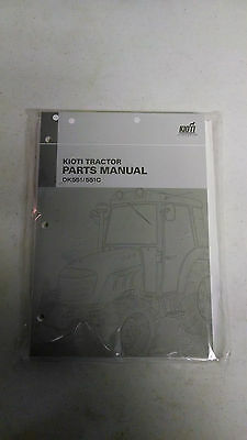 Kioti DK551/DK551C Parts Manual