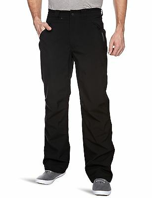 COLOUR BLACK CRAGHOPPERS STEALL MEN/'S WATERPROOF STRETCH TROUSERS LEG 29.