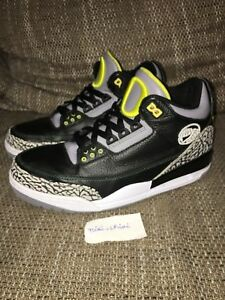 affordable price best prices factory price Details about Nike Air Jordan 3 III Retro Oregon Ducks Pit Crew US 10.5  Concord Bred Cement 11