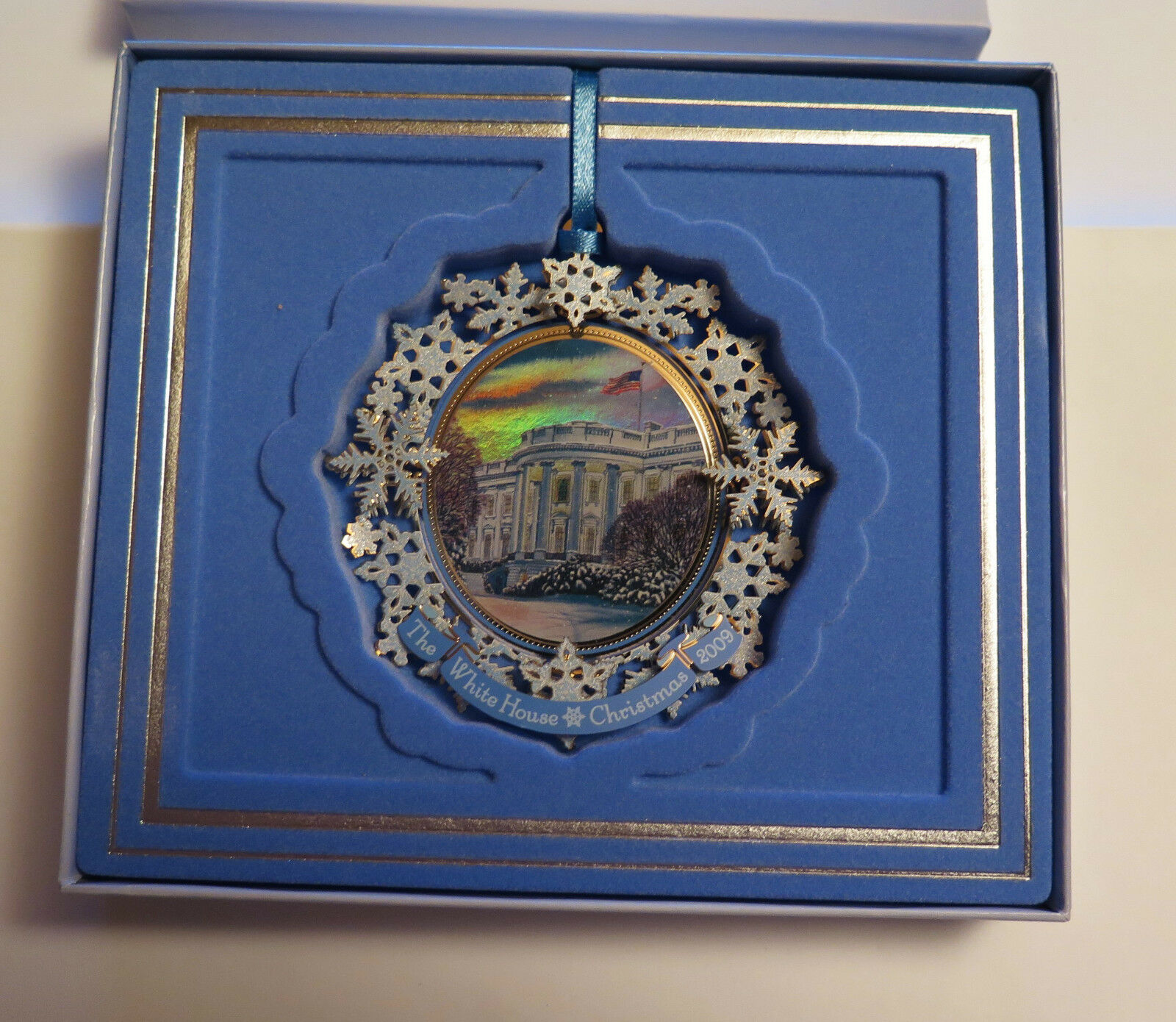 7658  gioielli di Natale, The bianca House Historical Historical Historical ASS., 2009, decorazioni natalizie  da9d9d