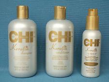 CHI Keratin K-TRIX 5 SET Haarglättung bis zu 5 Haarwäschen Smoothing 825 ml