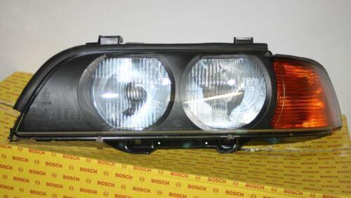 BMW 5er E39 Halogen Scheinwerfer Links Left  09//1995-08//2000  BOSCH ORIGINAL