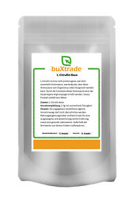 1-kg-L-Citrullina-BASE-Rein-amminoacido-SENZA-MALAT-Sport-Fitness