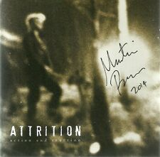 ATTRITION-ACTION AND REACTION CD(TWO GODS)SIGNED