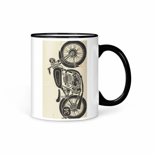 TASSE Kaffeetasse Motorrad Vintage 3