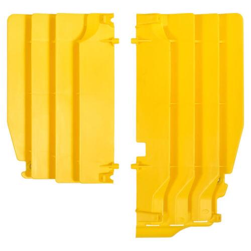 Calandre Radiateur Protection Refroidisseur lamelles screen Suzuki VPM 450 08-17 Jaune Yellow