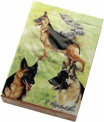 New German Shepherd Designer Roller Ball Pen in Gift Box by Ruth Maystead