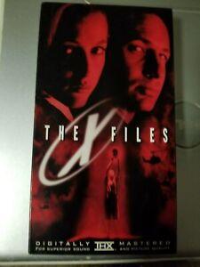 The X Files 1998 Vhs Ebay