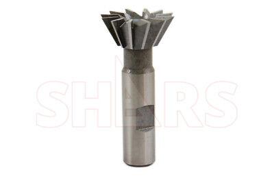 """Shars 1-3//8/"""" 60 Degree HSS Dovetail Cutter New !}"""