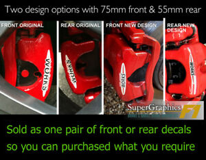 Brake-Decal-Sticker-fit-Mini-Cooper-S-works-brake-caliper-front-or-rear-option