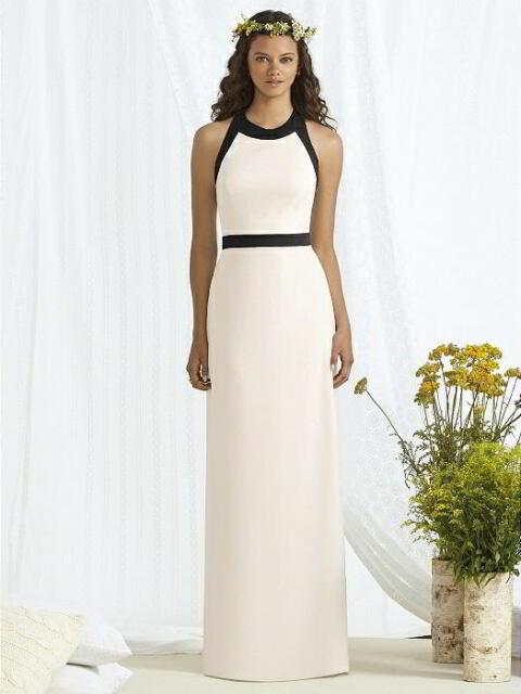164faaf4d32a SR514 SOCIAL BRIDESMAIDS 8163BL SZ 10 IVORY $259 BRIDESMAID FORMAL DRESS