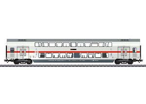 Marklin-43484-Ic-Doppelstockwagen-2-Classe-DB-Ag-avec-Eclairage-Interieur