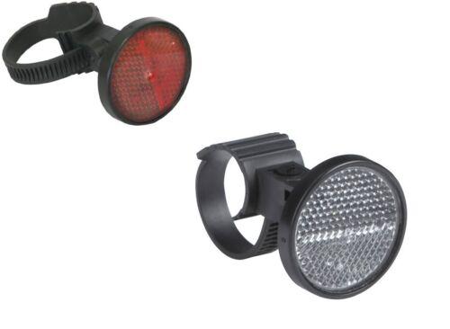 AXA Vélo Réflecteurs Set Front Retour Projecteurs universel de fixation NEUF