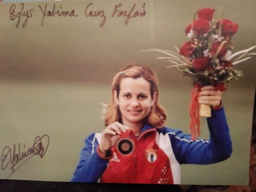 Eglys  Yaima Cruz  CUBA    OLympiadritte  2008  im  Schiessen