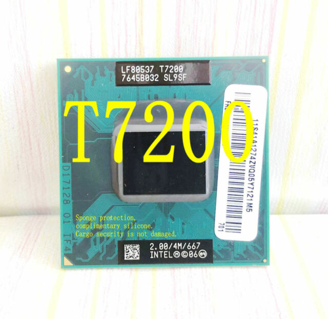 Intel Core 2  T7200 (SL9SF) 2.00GHz / 4M /  667 / Notebook processor