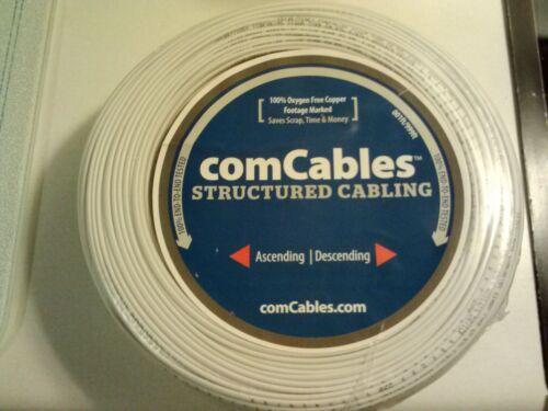 New comCables 22g2c STR-CM//CL2-FT1-500/' 500 Feet White TRI-222STR5CRLWH