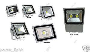 10W 20W 30W 50W 100W LED Flood light  Waterproof Outdoor & Outdoor Use