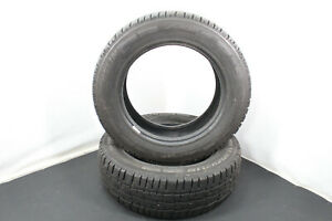 2x-205-65-r16c-107-105t-Pneus-hiver-Michelin-Agilis-Alpin-Dot-2013-Profil-6-mm