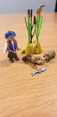 Playmobil Spares Rare Kingfisher 5786 Small Bird Wild life Farm Forest  Zoo