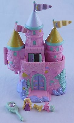 Trendmasters Starcastle By The Sea Pink Glitter Castle Playset w/ Princess, Pets