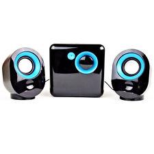 Speaker 2.1 Casse Acustiche per Pc 2 Altoparlanti Con Sub USB