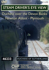 Steam Driver's Eye View - Duchess Over The Devon Banks (Newton Abbot - Plymouth