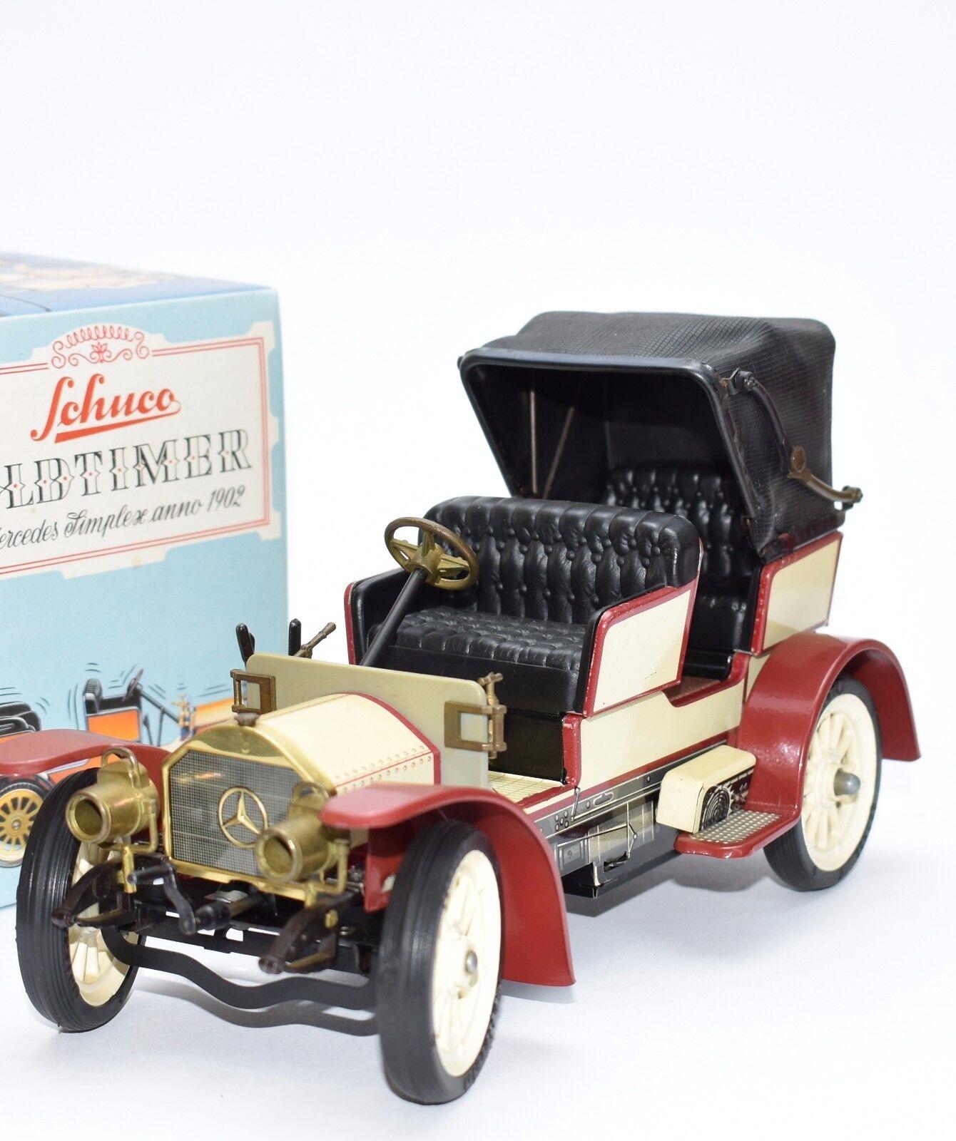 sconto Schuco 1239 RAR stata limitata replica attualmente attualmente attualmente LAMIERA MERCEDES BENZ simplexe 1902, OVP, b309  gli ultimi modelli