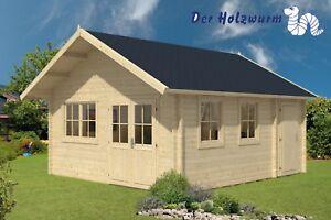 Gartenhaus Berlin Blockhaus Gerätehaus Holzhaus Schuppen 490 X 530