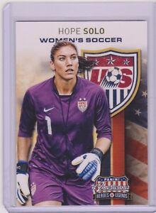 SWEET-2012-PANINI-AMERICANA-HOPE-SOLO-CARD-11-USA-SOCCER-WORLD-CUP-MULTIPLES