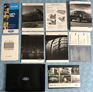ford   owners manual  sync  nav oem set limited