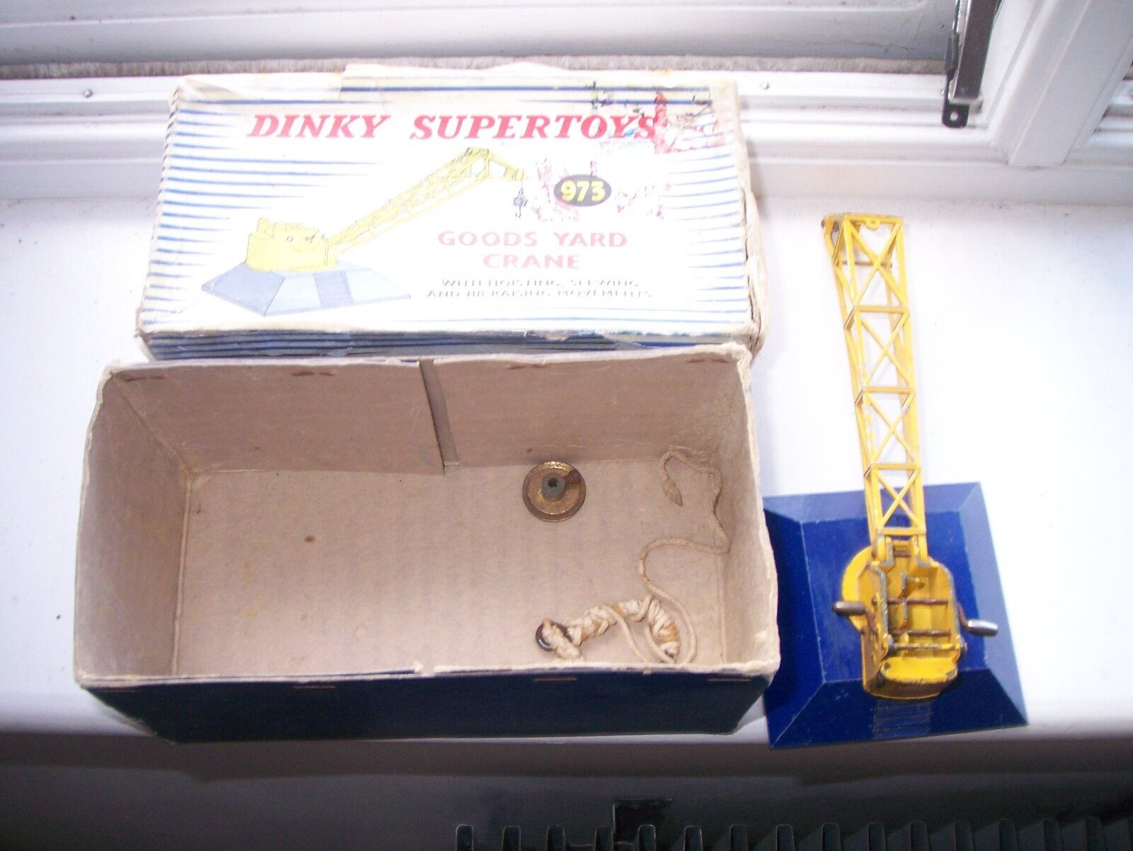 Dinky 973 SUPER TOYS marchandises Yard CRANE-Coffret