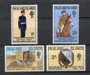 39405) Falkland Isl. 1970 MNH Defense Force 4v