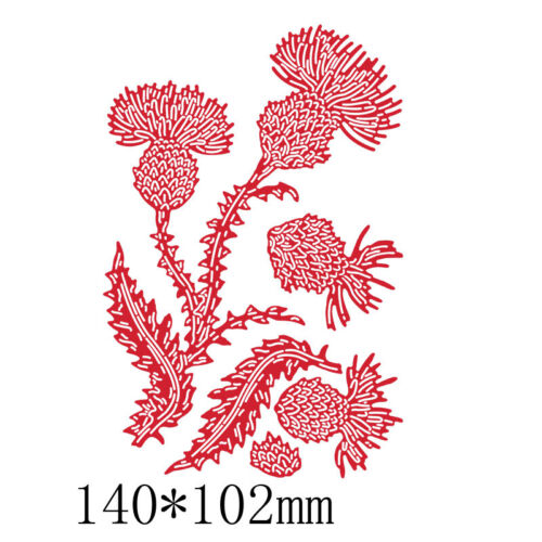 Lovely Flowers Frame Decoration Metal Cutting Dies DIY Embossing Stencil Craft