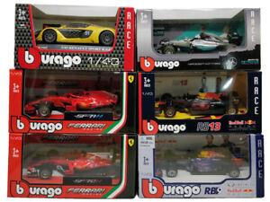 Formula-One-F1-AMG-Ferrari-SF71H-RedBull-2018-RB14-Diecast-Car-Toys-Scale-1-43