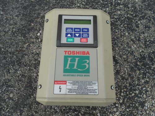 "Toshiba VT130H3U4055 /""H3/"" 5HP Inverter /""RS232/"""