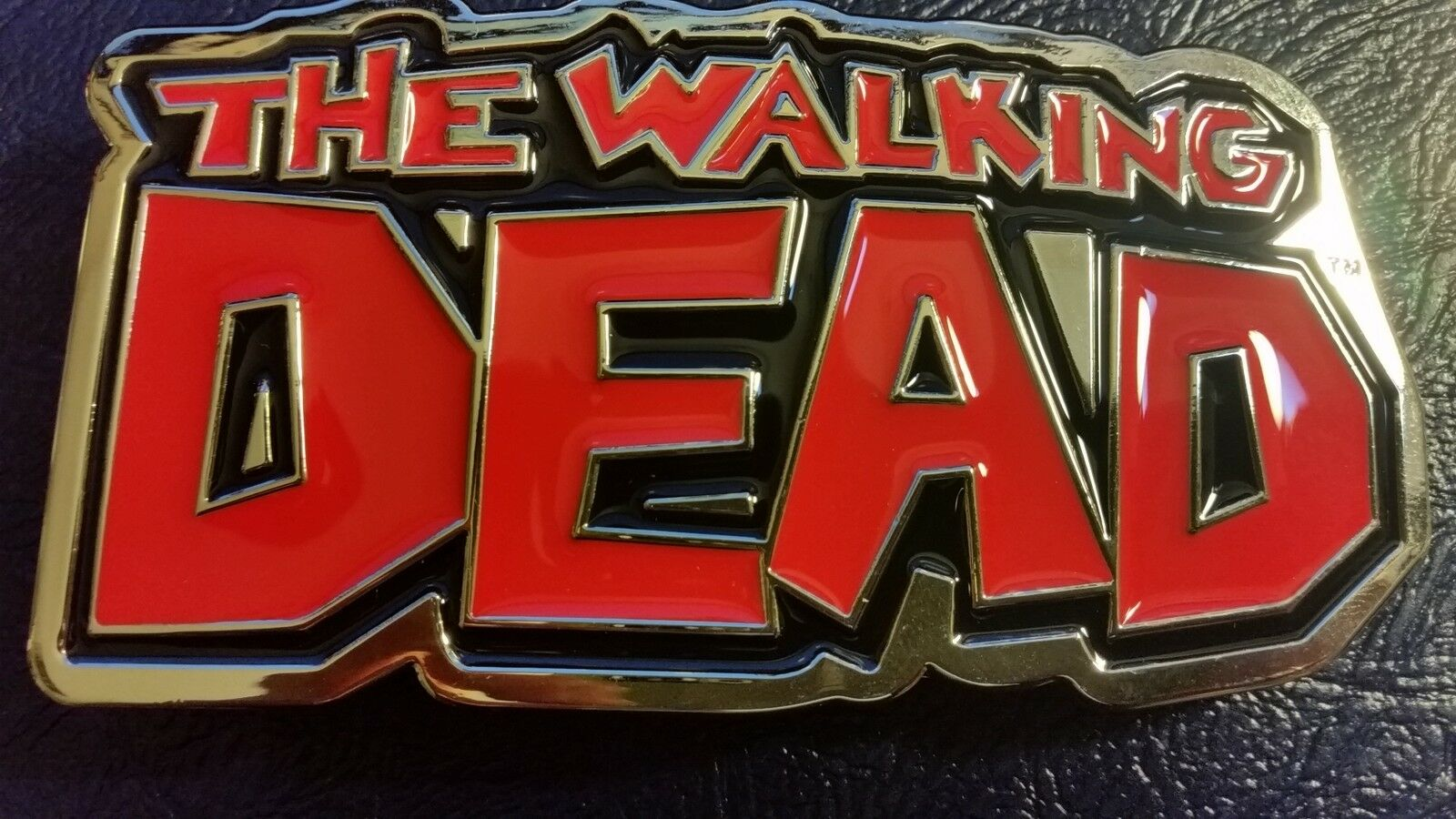 ✖ The Walking Dead Belt Buckle Cosplay collectible Full Metal norman reedus