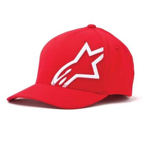 Alpinestars Corporate Moteur Bike Motocross cap A-Red
