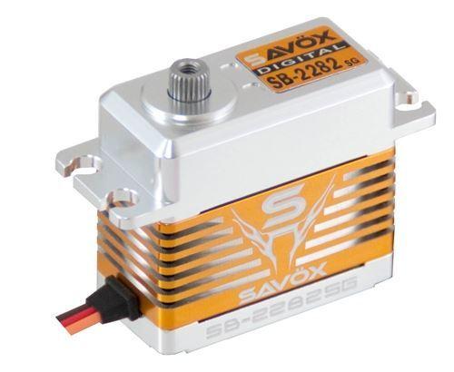 Savox sin escobillas de alta tensión Digital Servo 0.075 319.4 @ 7.4V - Savsb 2282Sg