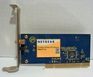 NETGEAR PCI ADAPTER WG311V3 DRIVERS