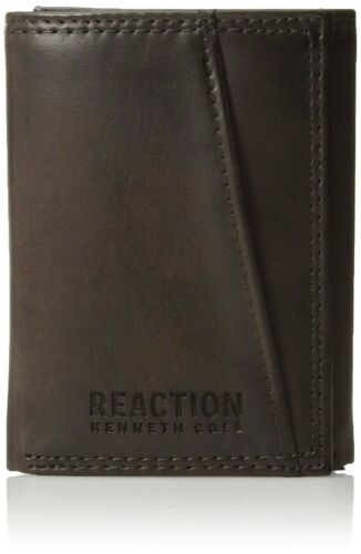 Kenneth Cole Reaction Men/'s Rfid Blocking Trifold Security Wallet 31KC110001