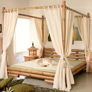 Himmelbett-140x200-Koh-Tao-Natur-Bambusbett-Bettrahmen-Holzbett-Doppelbett-Luxus