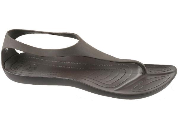 dd11b93e0 Women s Shoes Sandals Crocs Sexi Flip Espresso 11354 UK 3 for sale online