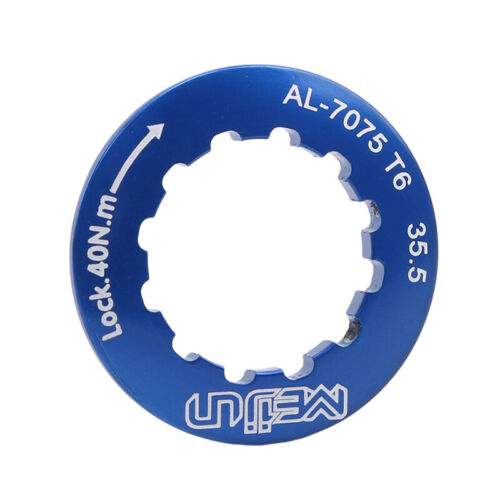 Lightweight Aluminum Alloy MTB Mountain Road Bike Cassette Cover Lock Ring D