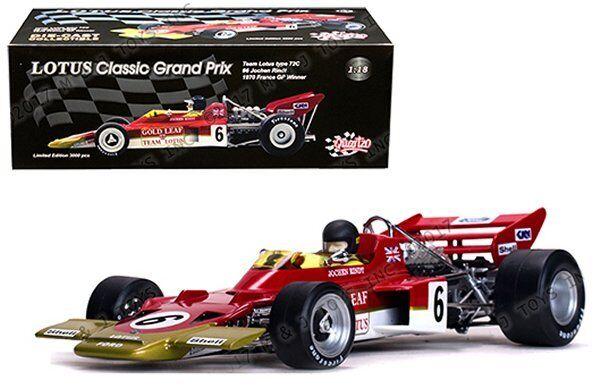 SUN STAR 1 18 Quartzo SS18275 Lotus 72 C  6 Jochen Rindt 1970 France Grand Prix Winner