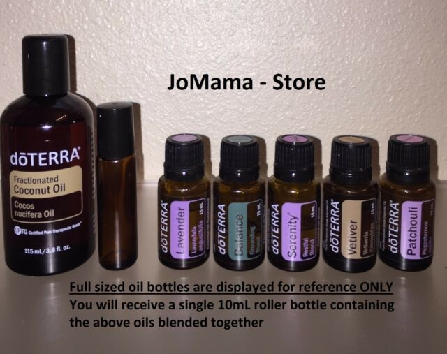 Doterra Essential Oils Calming Stress Anxiety 10 Ml Roll On Blend