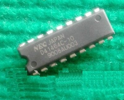 10 PCS D41464C D41464C-10 NEC DIP18 10NS NEW