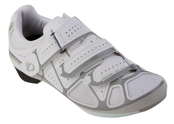 Pearl Izumi, modelo femenino, zapatos de bicicleta Road III, blancoos   blancoos 36,5.