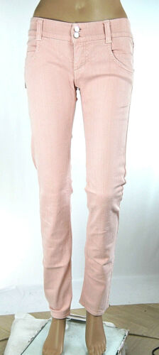 Jeans Donna Pantaloni MET  Regular Fit Made in Italy C738 Tg 27
