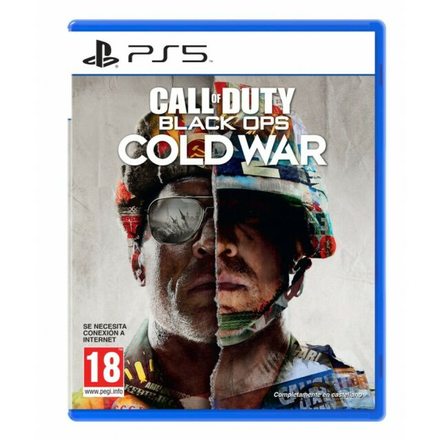 CALL OF DUTY BLACK OPS COLD WAR PS5 JUEGO FÍSICO PLAYSTATION 5 PS5