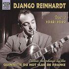 Vol. 2: 1938-1939 [Naxos] by Django Reinhardt (CD, Jul-2001, Naxos Jazz)